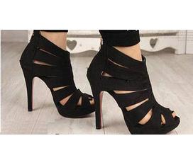 Giày cao gót xương cá tôn thêm dáng phái đẹp... giảm 10%