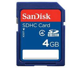 Thẻ nhớ SanDisk SDHC 2G, 4G, 8G, 16G, 32G Class 4 giá cực rẻ