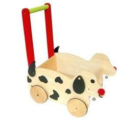 Xe dọn đồ chơi chó đốm