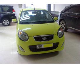 Bán xe Kia Morning 2010 xanh chuối nhập khẩu, chính chủ nữ, biển 24A 5 số