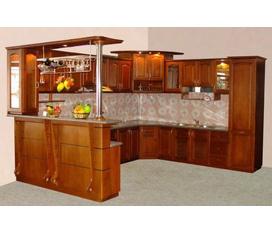 Tủ bếp gỗ Xoan Đào bắc
