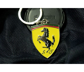 Móc chìa khóa logo ô tô: Ferrari , Porsche , Lamborghini , Mercedes , Caddilac FREE SHIP