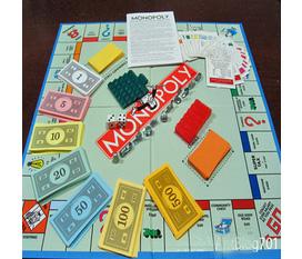 Cờ tỷ phú Monopoly Dòng Game học kinh doanh