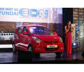 Hyundai EON sản phẩm mới của Hyundai tại việt nam.Mẫu xe thon nhỏ lạ mắt.Eon thiết kế theo điêu khắc dòng chảy