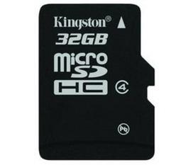 Thẻ nhớ Kingston Micro SDHC 32GB Class 4 giá cực rẻ