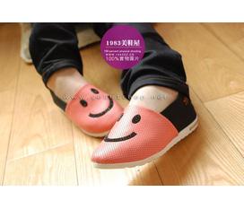 Giày mặt cười dễ thương giá siêu mềm đây