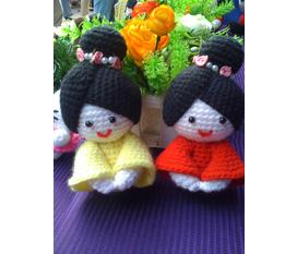Búp bê len handmade Quà tặng đẹp, độc đáo và ngộ nghĩnh