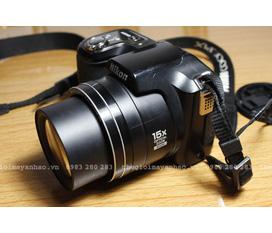 Bán máy ảnh Nikon Coolpix L100 siêu zoom 15x giá rẻ 3tr5