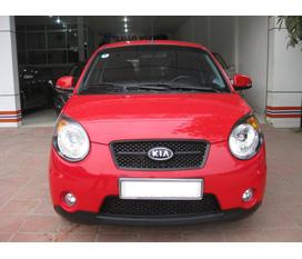 Bán Kia Morning SLX màu đỏ đời 2009 mordern 2010 biển 5 số 15A