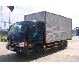 Hyundai Thăng Long Tổng Đại Lý phân phối Hyundai HD72 3.5tấn dịch cầu đóng thùng 6m2