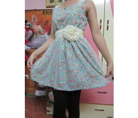 Váy hoa nhí, váy ren cực hot