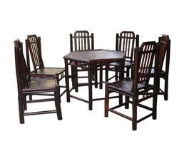Bàn ghế tre Làng nghề tre Xuân Lai