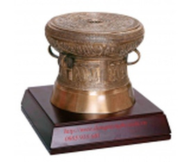 Sản xuất trống đồng,cung cấp trống đồng,quà tặng trống đồng