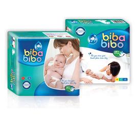 Bỉm Bibabibo giá siêu rẻ......tiết kiệm cho mẹ,thoải mái cho bé...giá 90k/bịch