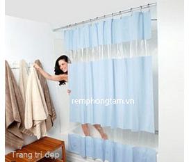 Rèm phòng tắm Textile Thái Lan
