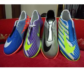 Giầy đá bóng sân cỏ nhân tạo Nike Mercurial hàng Việt Nam nhiều màu