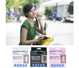 Tai nghe không dây SBH 110, thích hợp cho mọi loại điện thoại với giá khuyến mãi giảm 32%.