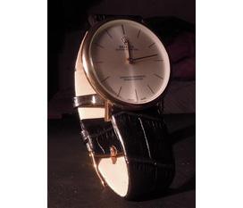 Rolex mạ vàng siêu mỏng,hai kim,kiểu dáng sang trọng,lịch lãm,máy móc chính xác,pin siêu bền