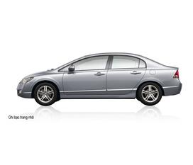 Mua Honda Civic được khuyến mại thuế trước bạ