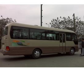 Xe khách 29 chỗ thân dài 51cm, Universe 47 chỗ, giá gốc từ nhà máy, KM 100% thuế trước bạ, làm trả góp NH lãi xuất thấp
