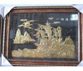 Tranh đồng phong thủy tranh đồng vinh qui bái tổ