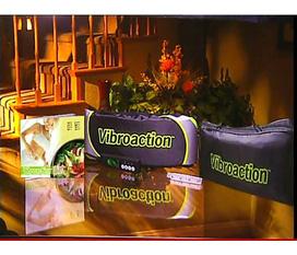 Đai Quấn Rung Massage VIBROACTION Giải Pháp Hữu Hiệu Giảm Mỡ Eo Bụng Giảm Giá SỐc