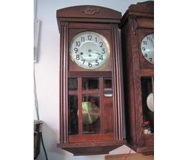 Đồng hồ Junghan treo tường cũ, cổ