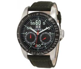 Đồng hồ Haurex Italy Men s AD352UN1 Red Arrow Auto Automatic Black Dial Watch