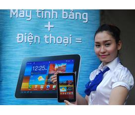Bán Galaxy Tab 7 plus P6200 mtb lai điện thoại mới mua được 10 ngày