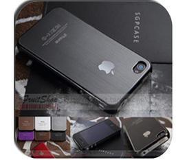 Ốp lưng iPhone 4 SGP nhôm xước