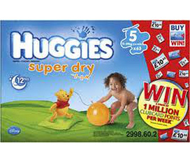 Bỉm Huggies........bán thanh lý....