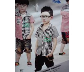 Thời trang hè Quảng Châu cho bé Trai và Gái và bộ Lanh đồng giá 45.000