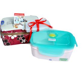 Hộp ủ cơm, hộp hâm nóng cơm, hộp làm nóng cơm tự động bằng điện, hộp cơm KOMASU
