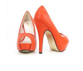 Hàng có sẵn giày cao gót hở mủi cao 12cm. sang trọng quý phái..