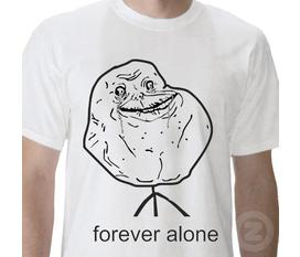 Bán áo Forever Alone của FB giá rẻ đây