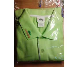 Thanh lí áo phông polo Lacoste hàng Fake 1 chuẩn size XL mới 100%