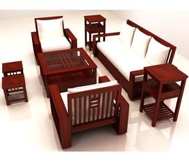 Bàn ghế phòng khách, salon, sofa, bàn ghế để đệm kiểu dáng hiện đại, chất liệu gỗ tự nhiên cao cấp, tư vấn thiết kế