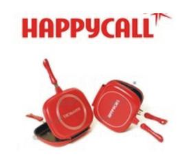 Chảo chống dính/nồi lẩu,nướng,rán đa năng/chảo 2 mặt happy call