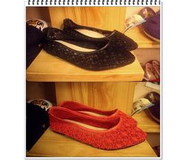 Giày búp bê cực kỳ dễ thương và nữ tình, chất liệu mềm mại và thoáng mát...hot nè