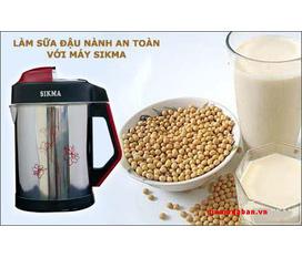 Máy làm sữa đậu nành Sikma SK 800 D7 giá sốc 593k chào mừng 30/4 1/5