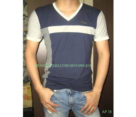 Hàng mới về 13/4: rất nhiều áo phông nam cổ tim, cổ tròn cực chất