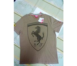 Thanh lý áo Puma Ferrari,DC,ecko hàng hiệu new 100%