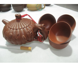 Bộ ấm trà tách trà cao cấp được nhập khẩu từ Trung Quốc