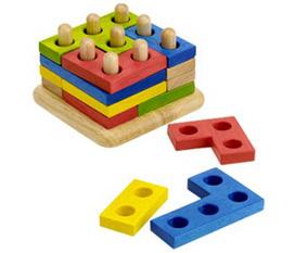Đồ chơi gỗ cao cấp Món quà thông minh tặng bé yêu
