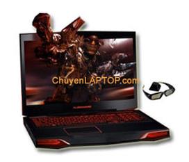 CRAZY SALE Alienware M17x R3 3D đủ cấu hình với nVIDIA 3D Vision Bundle
