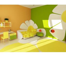Khuyến mãi chào hè Trang trí thiết kế phòng bé yêu miễn phí 100%