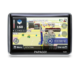 Thiết bị dẫn đường GPS PAPAGO R6300 màn hình 5 inch dùng cho xe hơi
