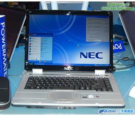 Bán laptop NEC, Dual Core 2x1.66 GHz, VGA ATi 512MB rời, Wifi, máy đẹp, giá rẻ 4,3tr