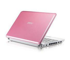 Netbook MSI U130 màu hồng đẹp