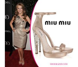 Topic 53 sandals miumiu 2012: Những mẫu giầy, sandals Miumiu